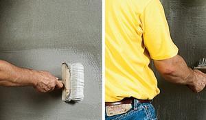 KROK VI - Nakładanie masy uszczelniającej na ścianach