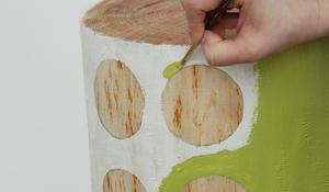Krok III - Malowanie kolorem